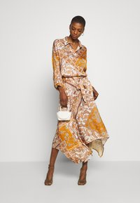Aaiko - SADÉ - Button-down blouse - sudan brown - 1