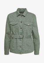 CAILY - Jeansjakke - steel green