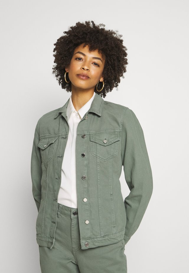 CAILY - Denim jacket - steel green