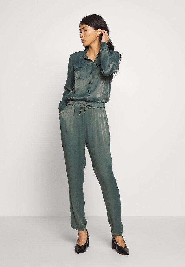 HAVANE - Overall / Jumpsuit /Buksedragter - steel green