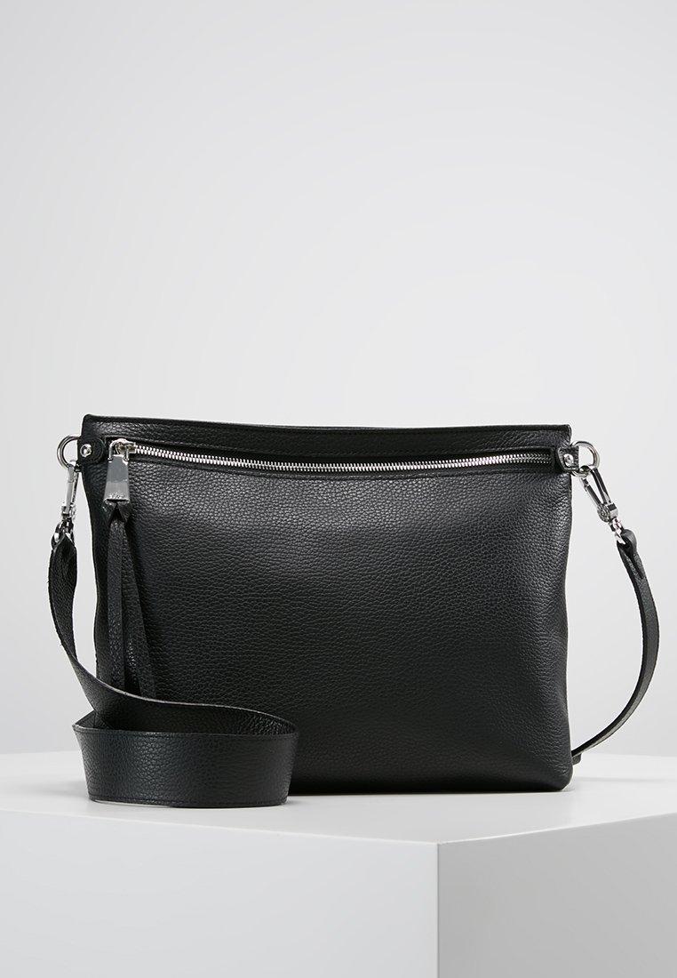 Abro - Umhängetasche - black/nickel