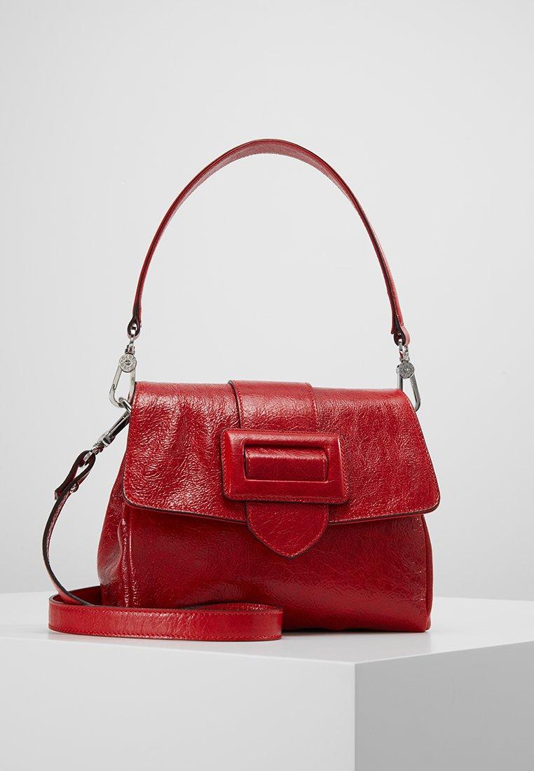 Abro - Handtasche - red/nickel