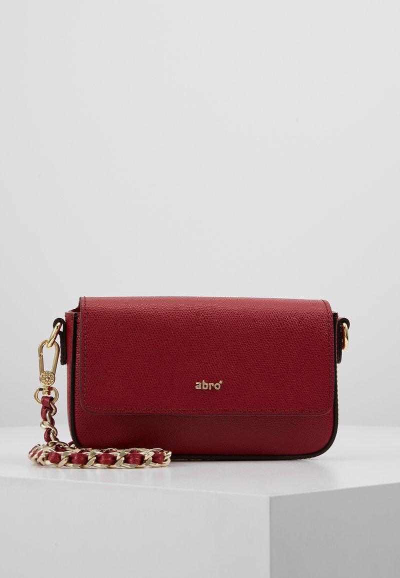 Abro - Across body bag - ruby