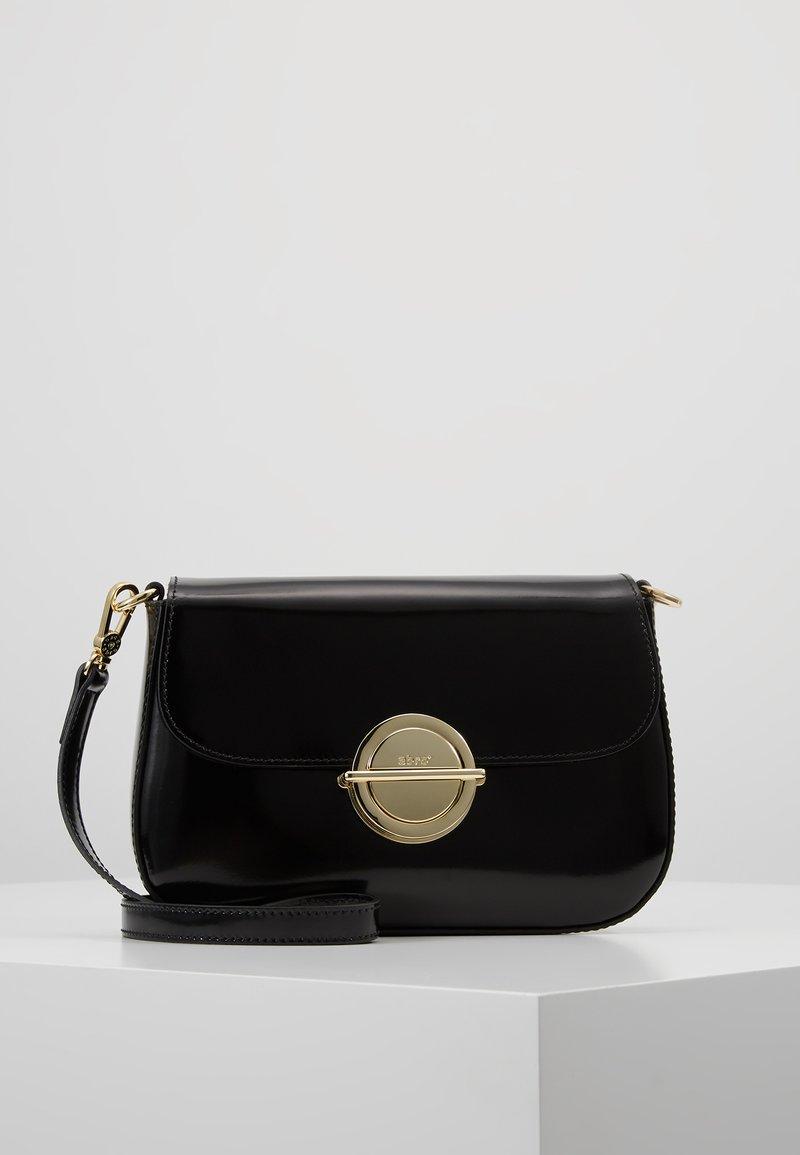 Abro - Sac bandoulière - black/gold