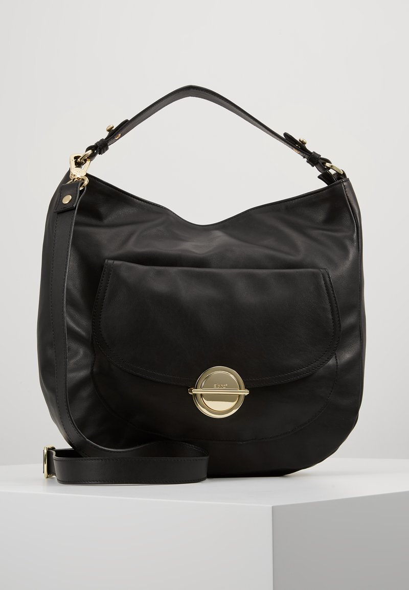 Abro - Handbag - black/gold