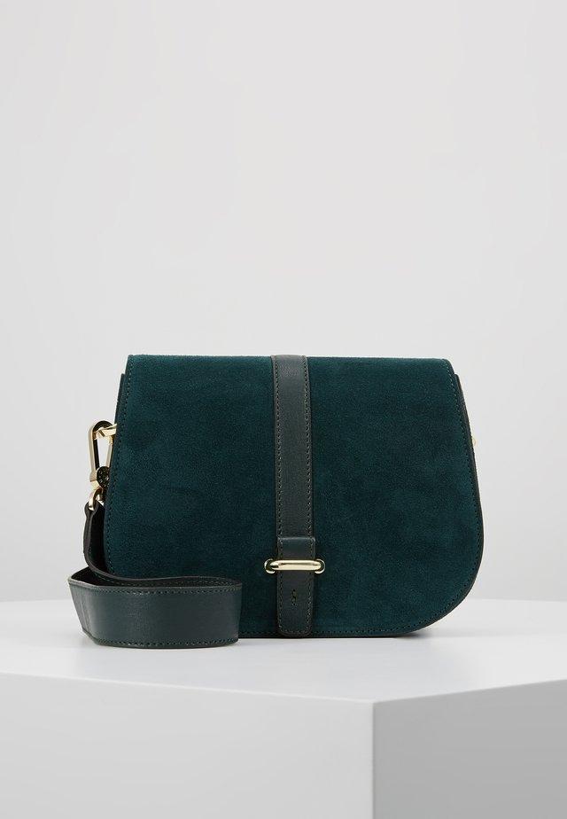 Across body bag - pixie green/gold