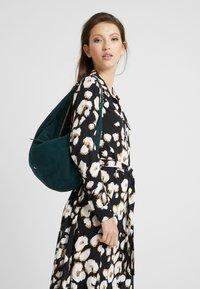 Abro - Handbag - pixie green/gold-coloured - 1