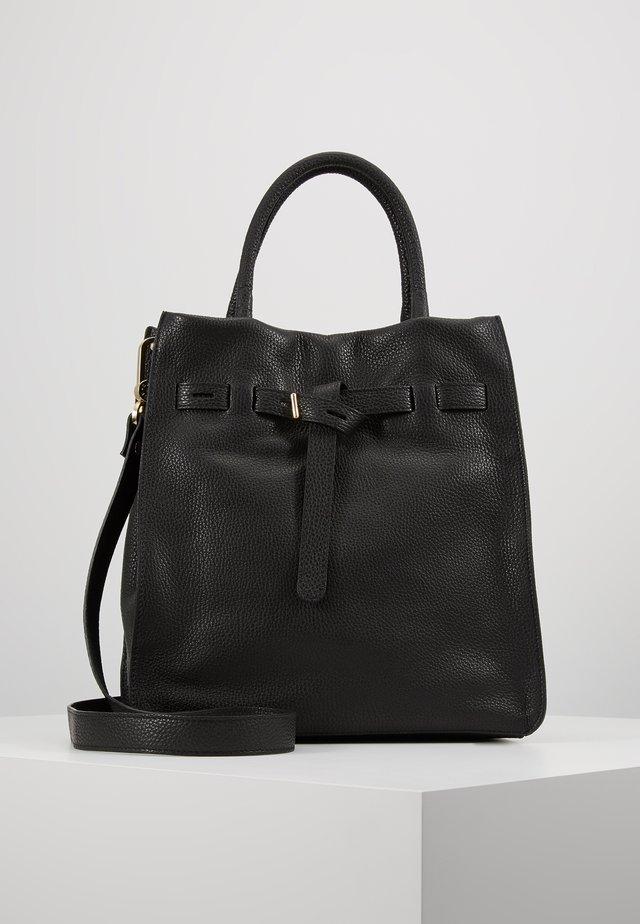 Shopping bag - black/gold-coloured