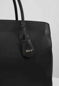 Abro - Tote bag - black/gold - 6