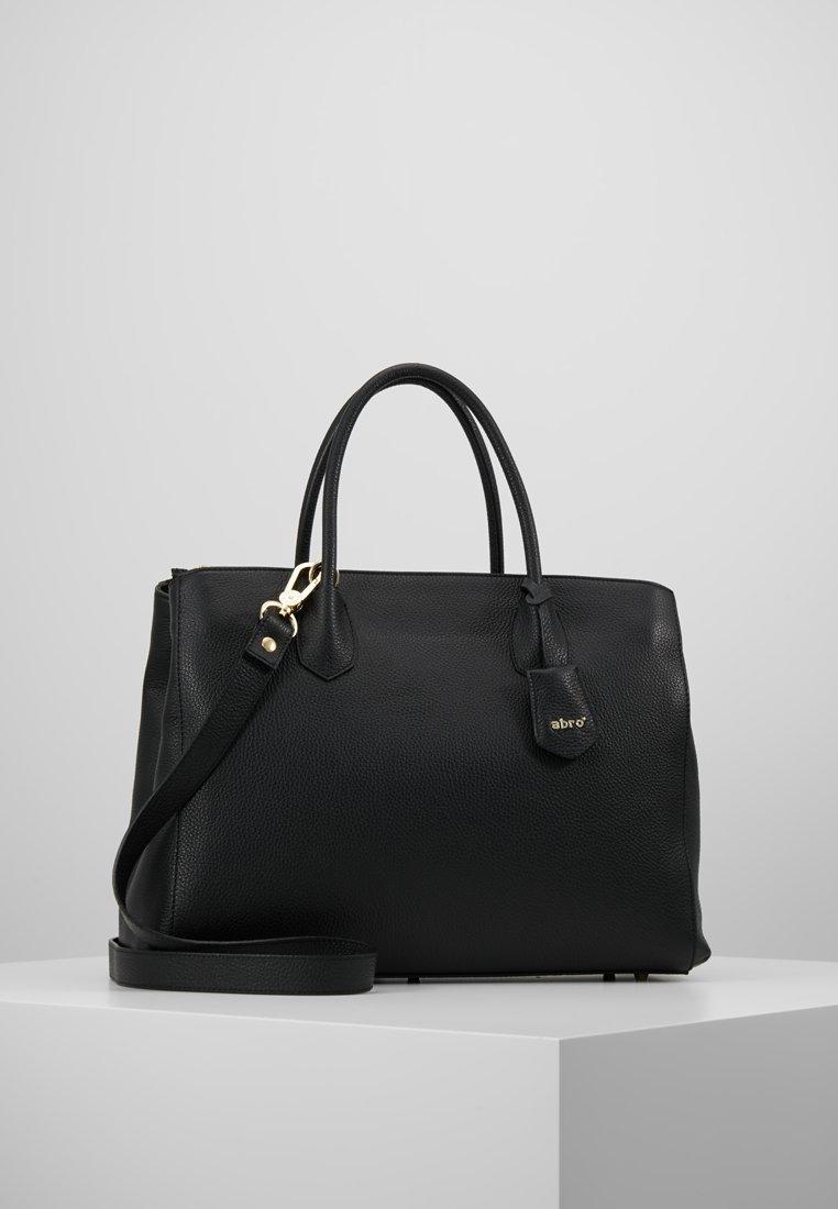 Abro - Tote bag - black/gold
