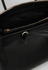 Abro - Tote bag - black/gold - 4