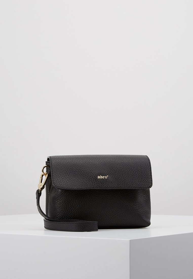 Abro - Across body bag - black/gold