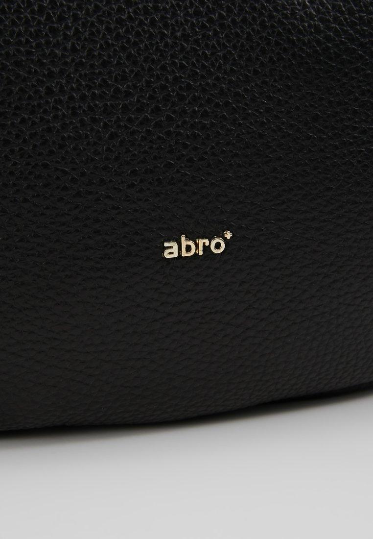 Abro Handtasche - black/gold - Black Friday