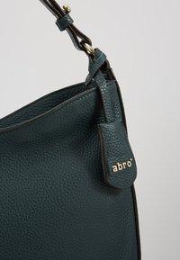 Abro - Handbag - pixie green/gold - 6