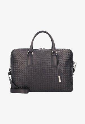 Briefcase - black/nickel