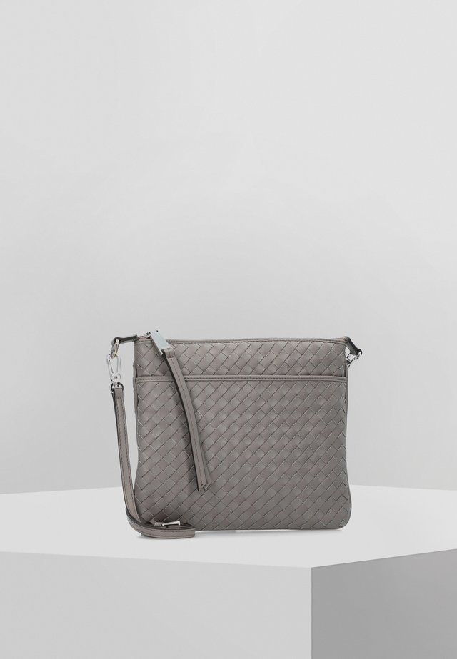 PIUMA WEAVING  - Handbag - grey