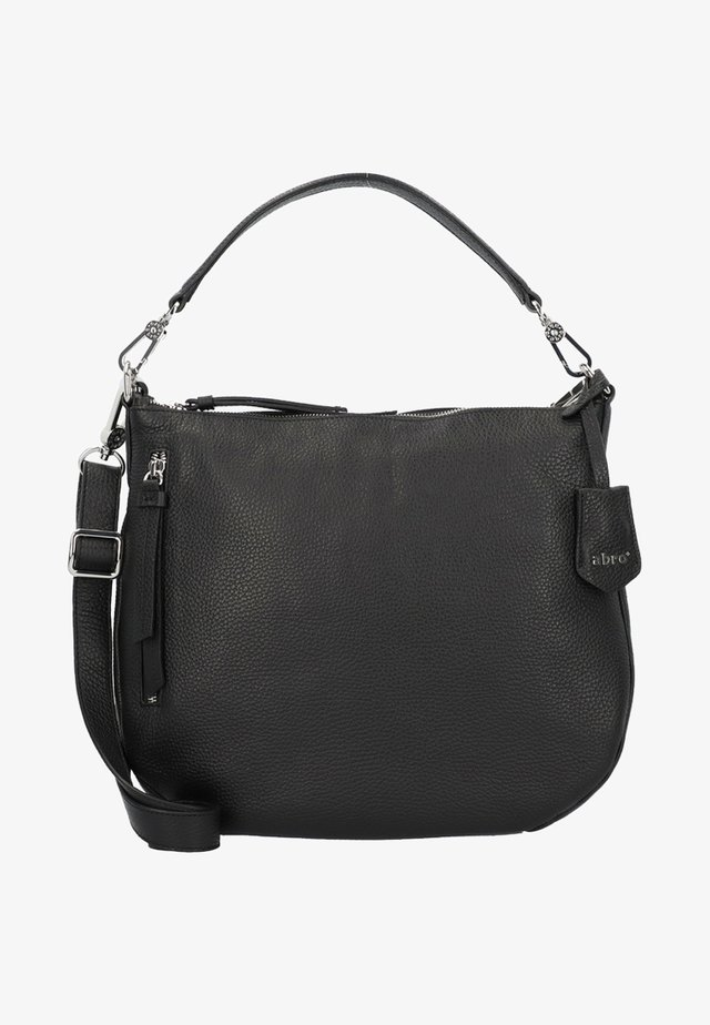JUNA  - Handbag - black/nickel