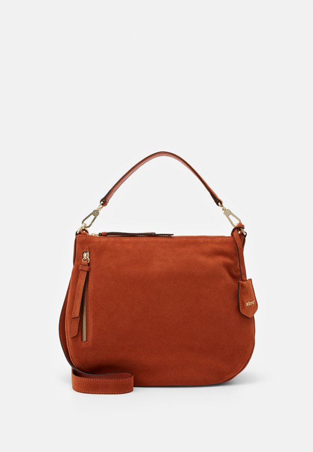 JUNA SMALL - Handbag - rust