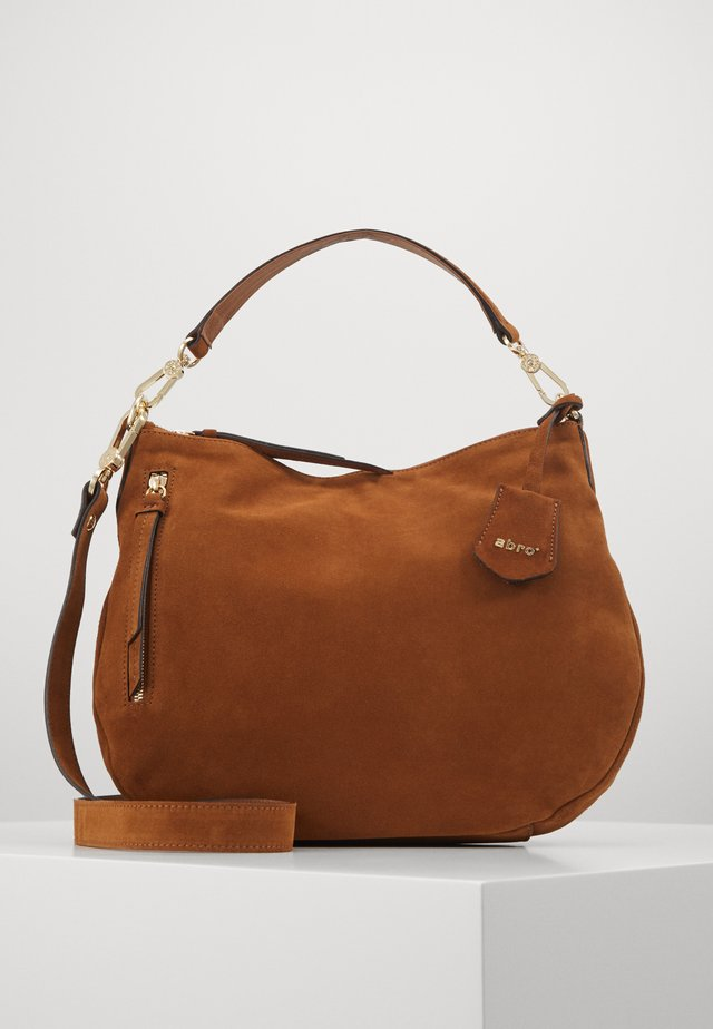JUNA SMALL - Handbag - cuoio