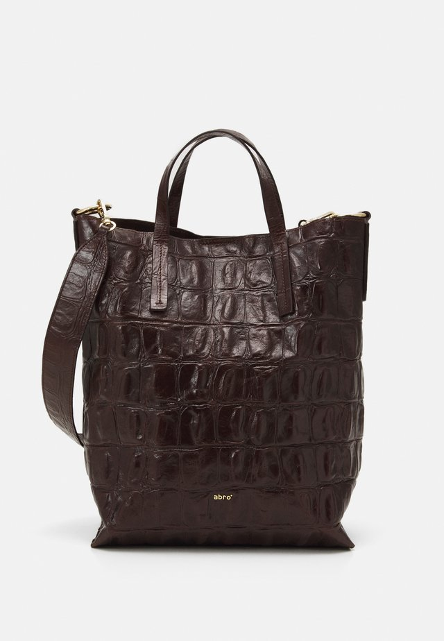 JULIE SET - Handbag - dark brown