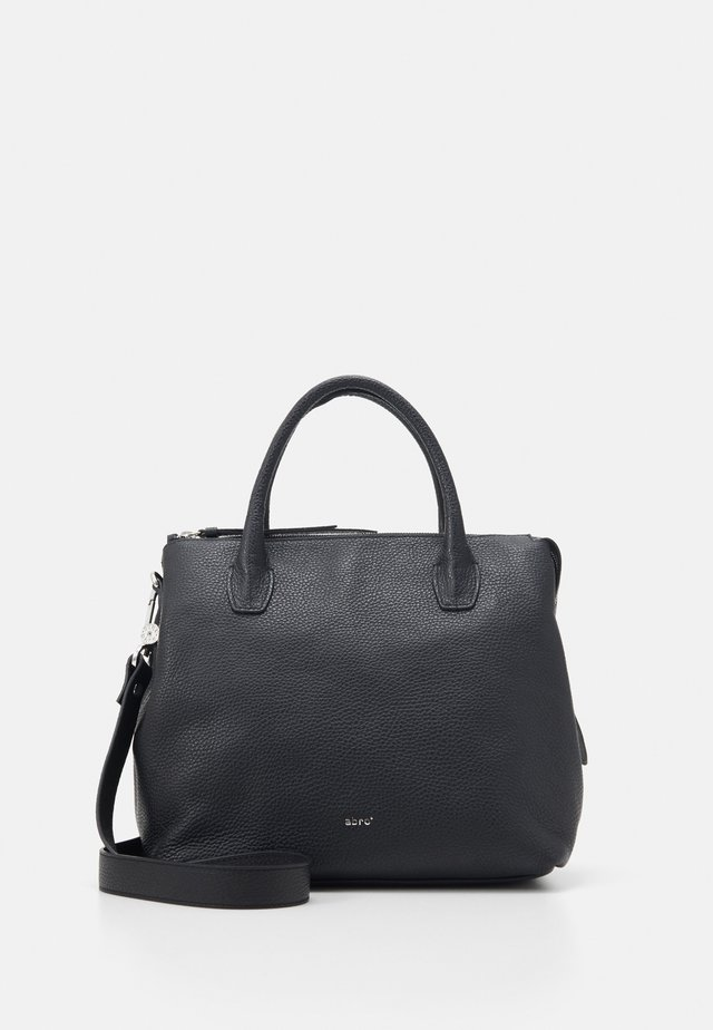 GUNDA  - Handbag - black/nickel