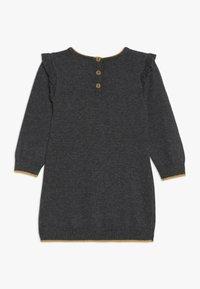 Absorba - BABY DRESS PETITS CHATS - Jumper dress - charcoal grey - 1