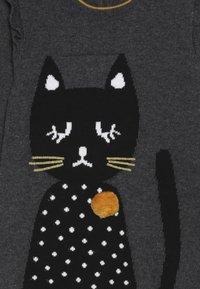 Absorba - BABY DRESS PETITS CHATS - Jumper dress - charcoal grey - 4
