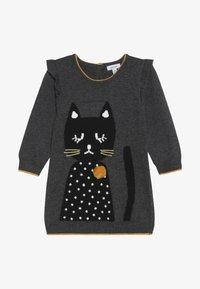 Absorba - BABY DRESS PETITS CHATS - Jumper dress - charcoal grey - 3