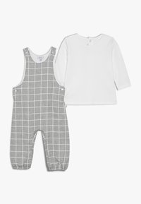 Absorba - BABY OUTFIT CÂLIN HIVER SET - Salopette - grey chine - 0