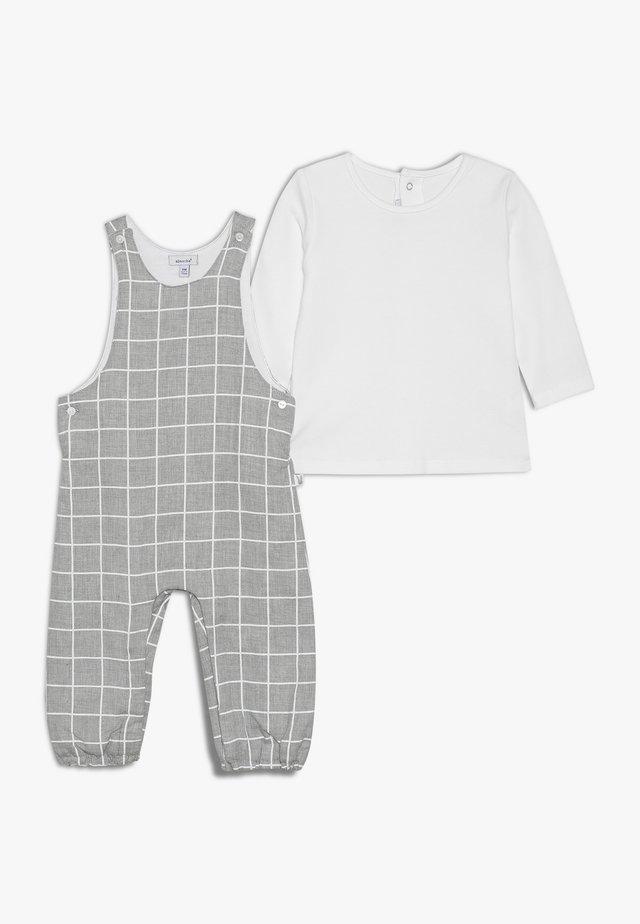 BABY OUTFIT CÂLIN HIVER SET - Latzhose - grey chine
