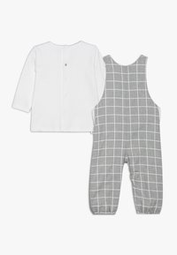 Absorba - BABY OUTFIT CÂLIN HIVER SET - Latzhose - grey chine - 1