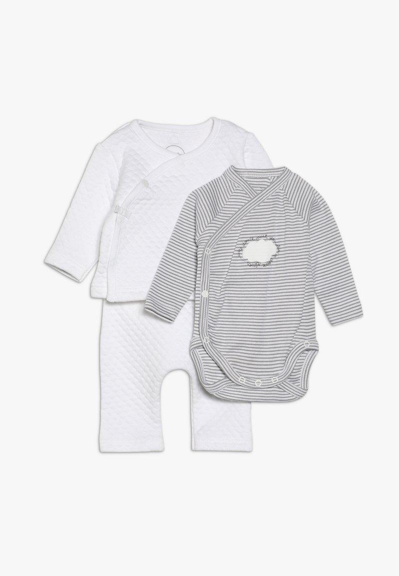 Absorba - ENSEMBLE LONG SET - Vest - blanc