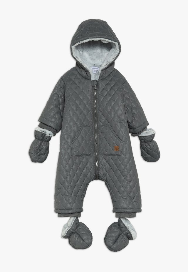 BABY COVERALL NOMADE - Vinterdress - dark grey