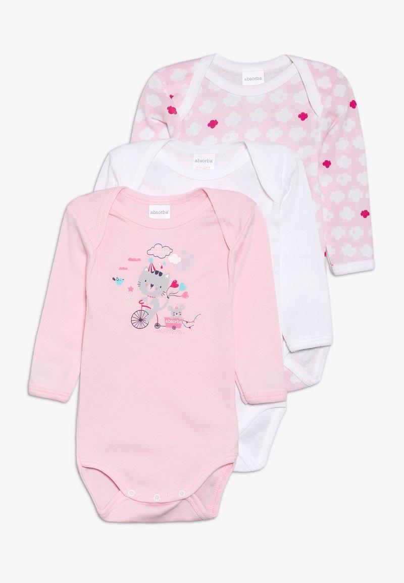 Absorba - BABY ACROBATE 3 PACK - Body - old pink