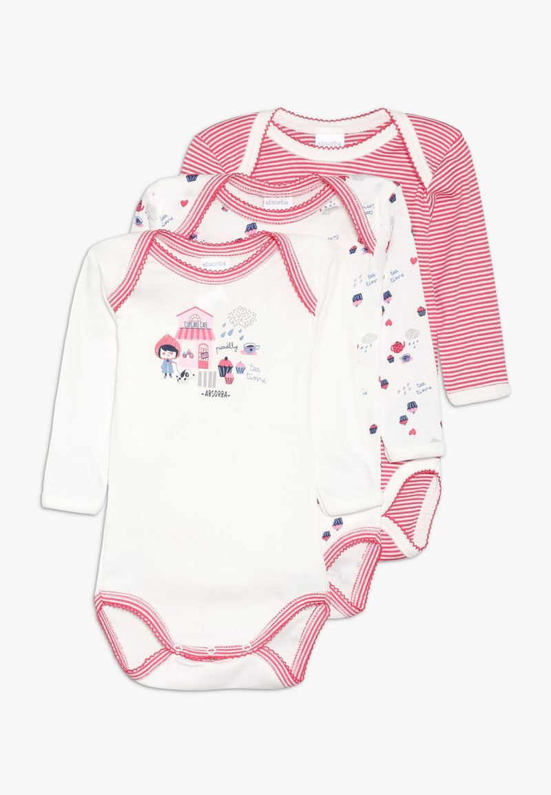 Absorba - BABY TEA TIME 3 PACK - Body - pink