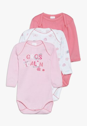 BABY GROS CALIN 3 PACK - Body - peach