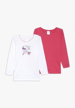 TEE 2 PACK - Unterhemd/-shirt - white