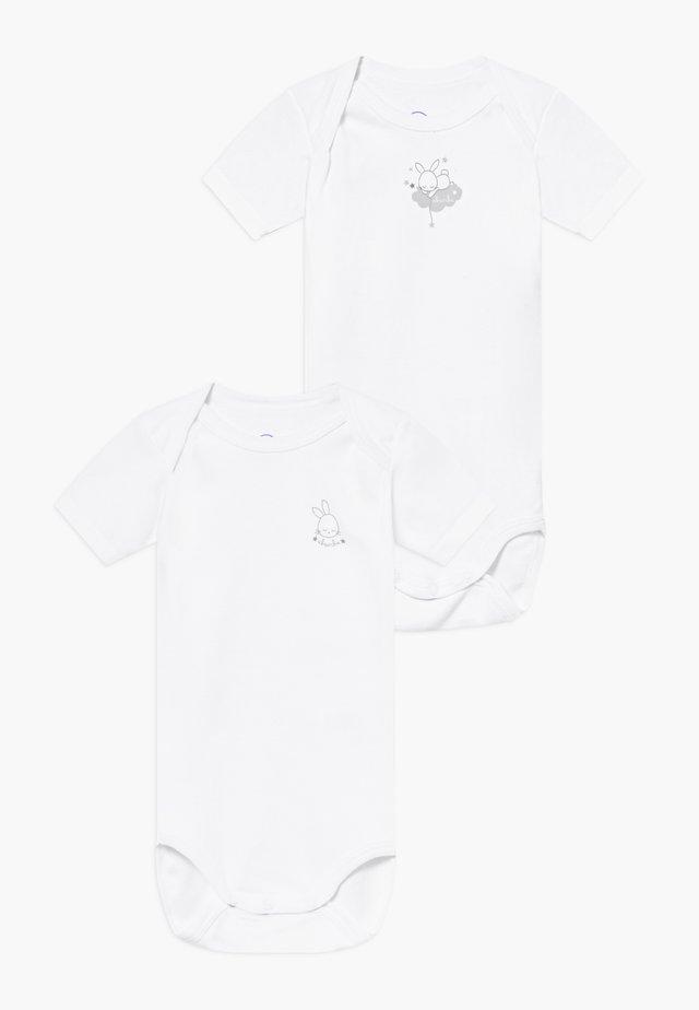 2 PACK - Body - blanc