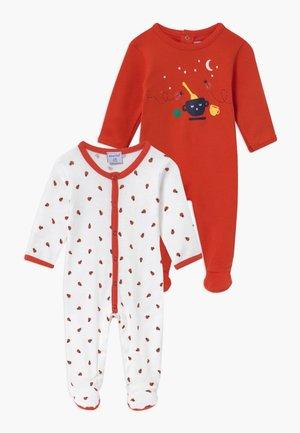 2 PACK - Pyjama - vermillon