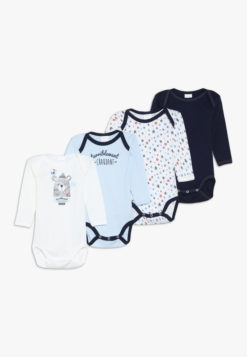 Absorba - BABY OURS MARIN 4 PACK - Body - navy blue