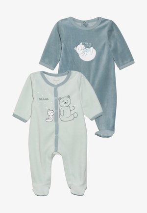 DORSBIEN 2 PACK - Pyjama - bleu ocean