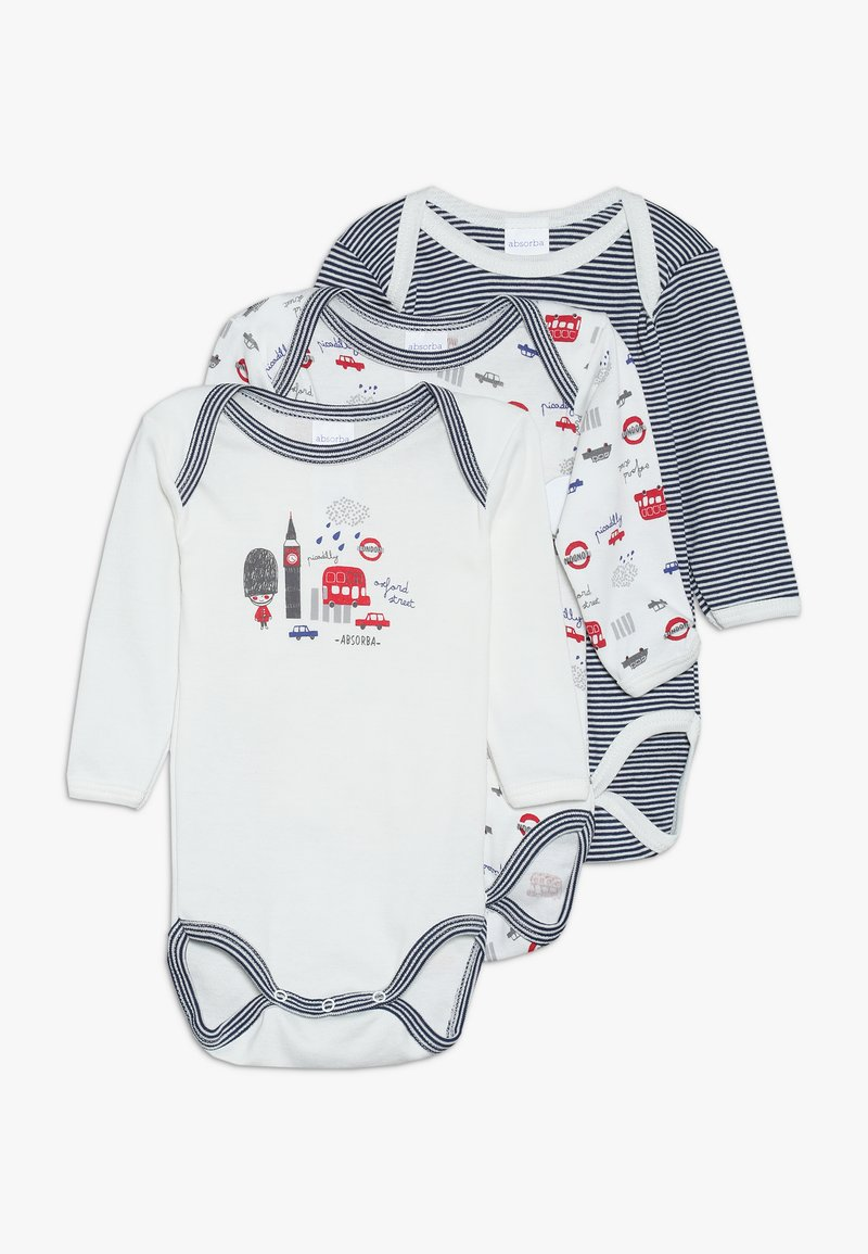 Absorba - BABY PETIT LONDON 3 PACK - Body - pearly