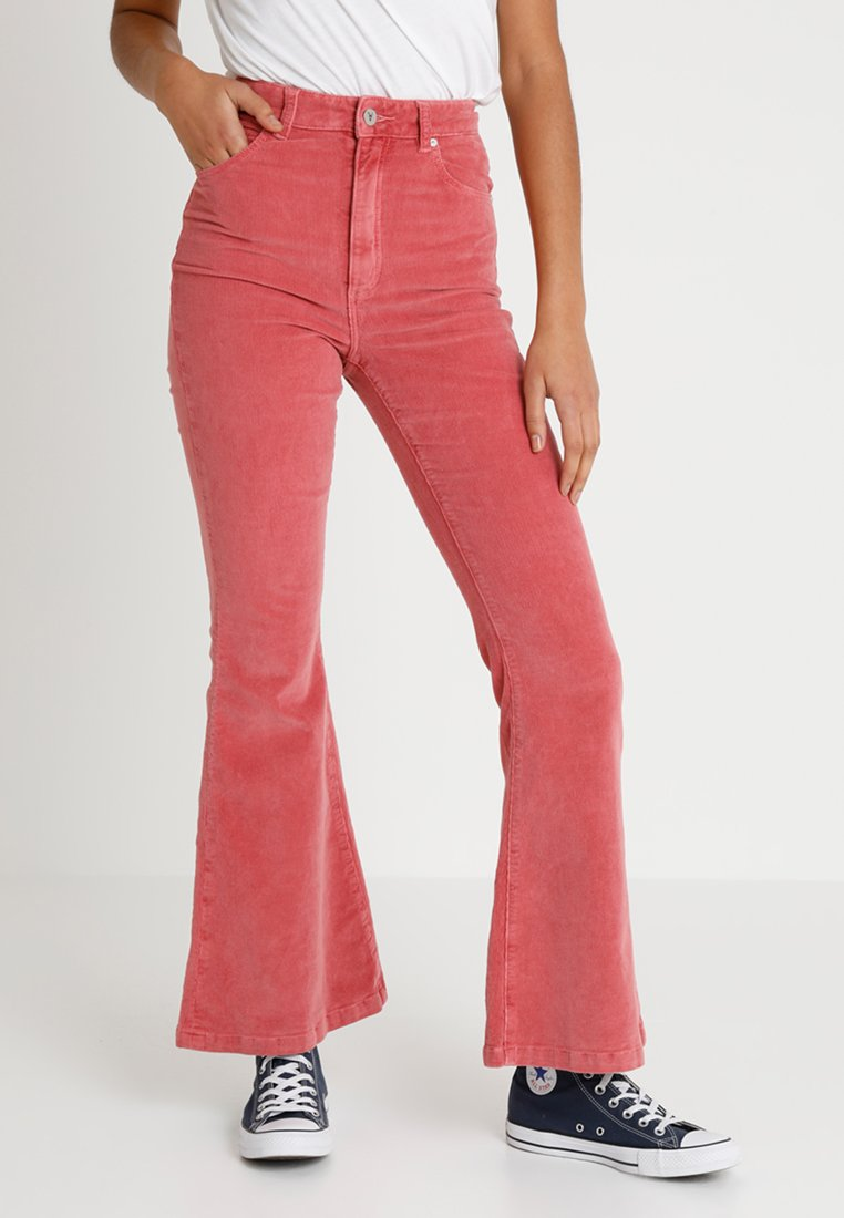 Abrand Jeans - A DOUBLE OH FLARE - Pantalones - hot flamingo