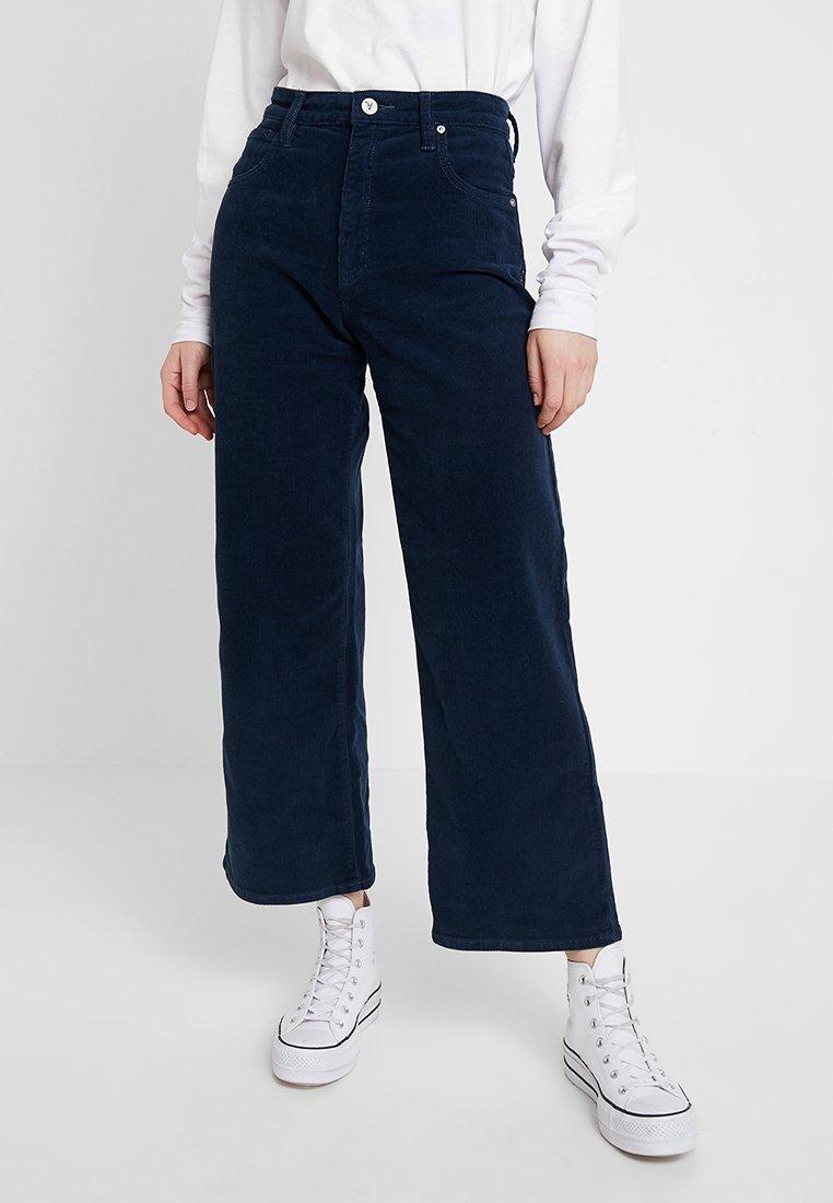 Abrand Jeans - A STREET ALINE - Stoffhose - baltic blue