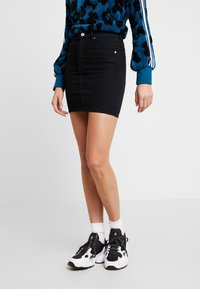 Abrand Jeans - A SKIRT - Denim skirt - dead of night - 0