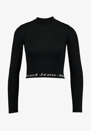 A BROOKE - Jumper - black/white