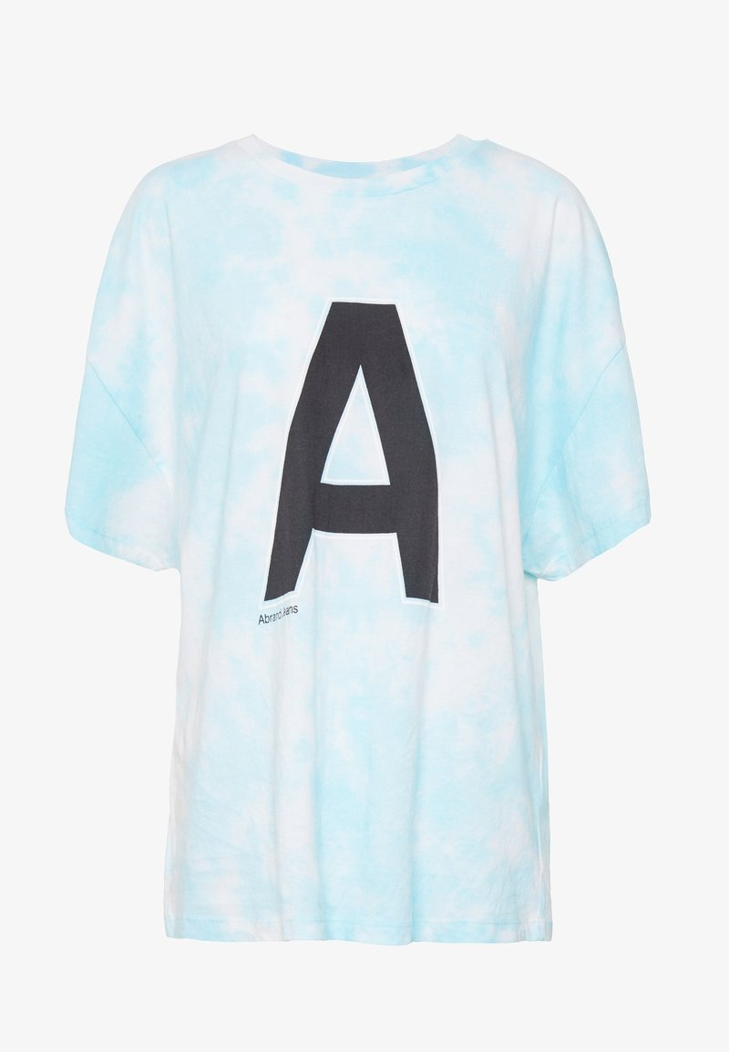 Abrand Jeans A OVERSIZED VINTAGE TEE - T-shirts med print - bora blue tie dye