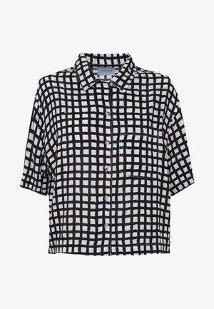 CROPPED HAWAIIAN - Košile - faded black