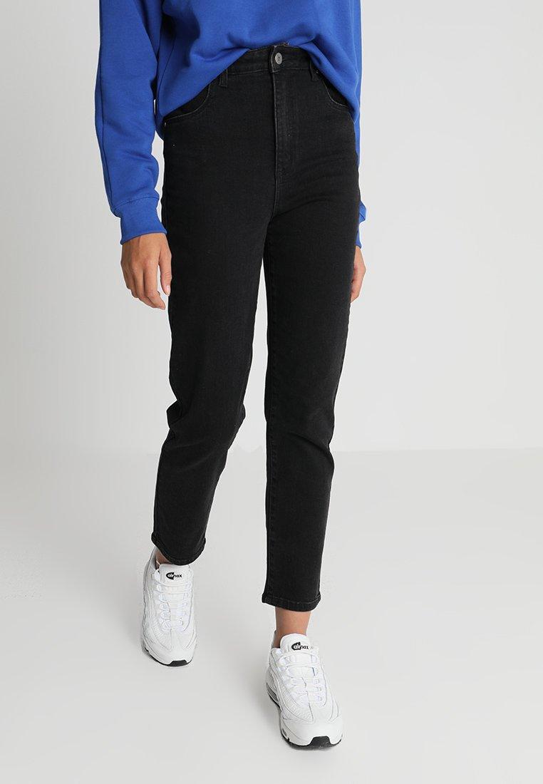 Abrand Jeans - HIGH - Jeans Slim Fit - black denim