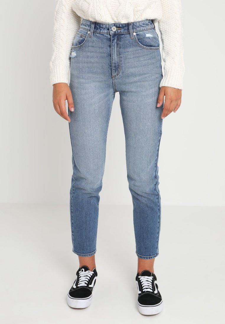 Abrand Jeans - A '94 HIGH  - Jean slim - blue denim